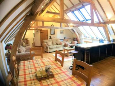 Oak Barn Open Plan Living