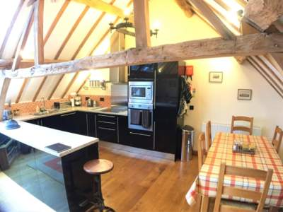 Oak Barn Open Plan Kitchen